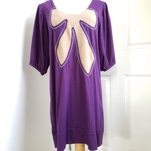 Urban Outfitters Purple Jersey Tee/dress